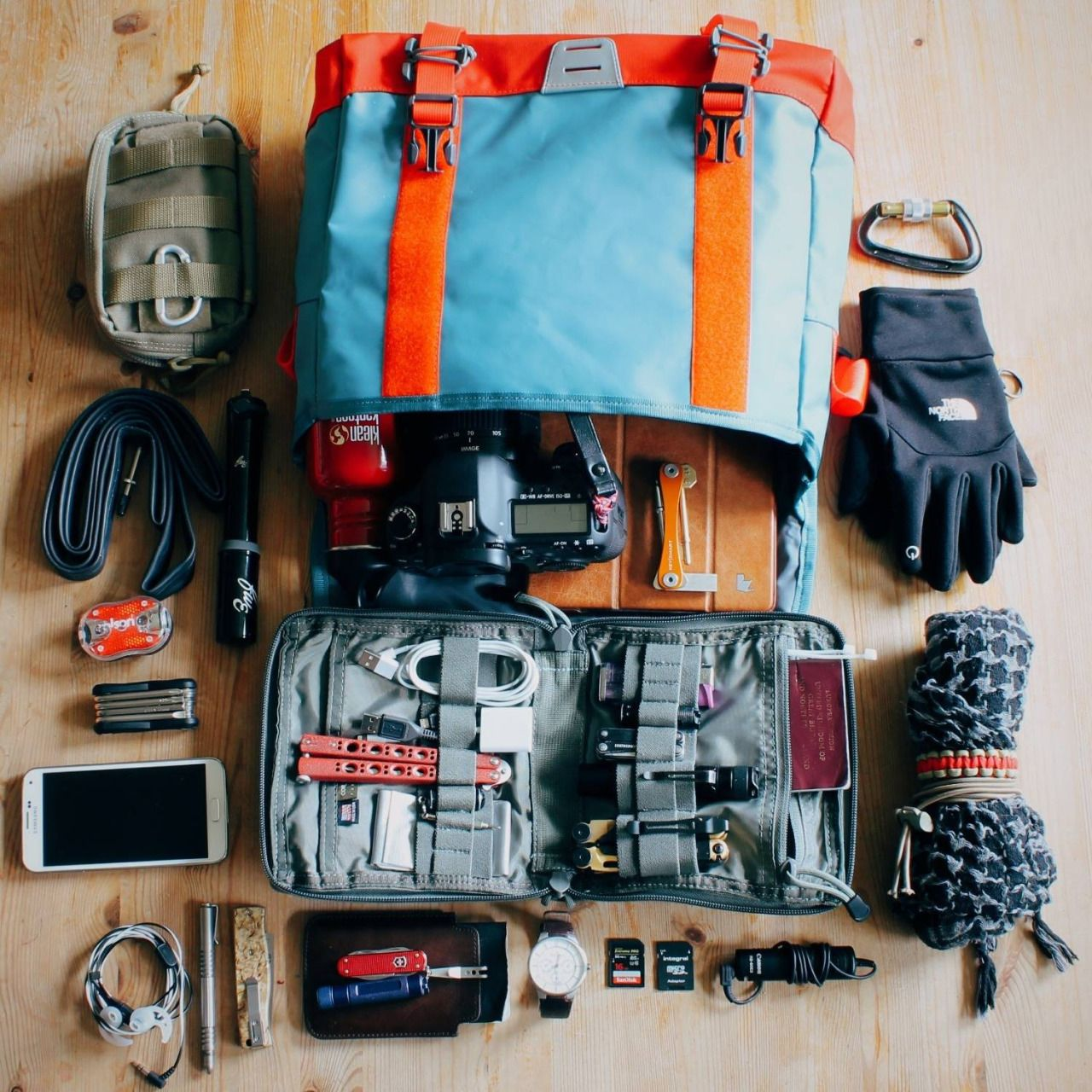Everydaycarry Submitted By Mike Medlock North Face