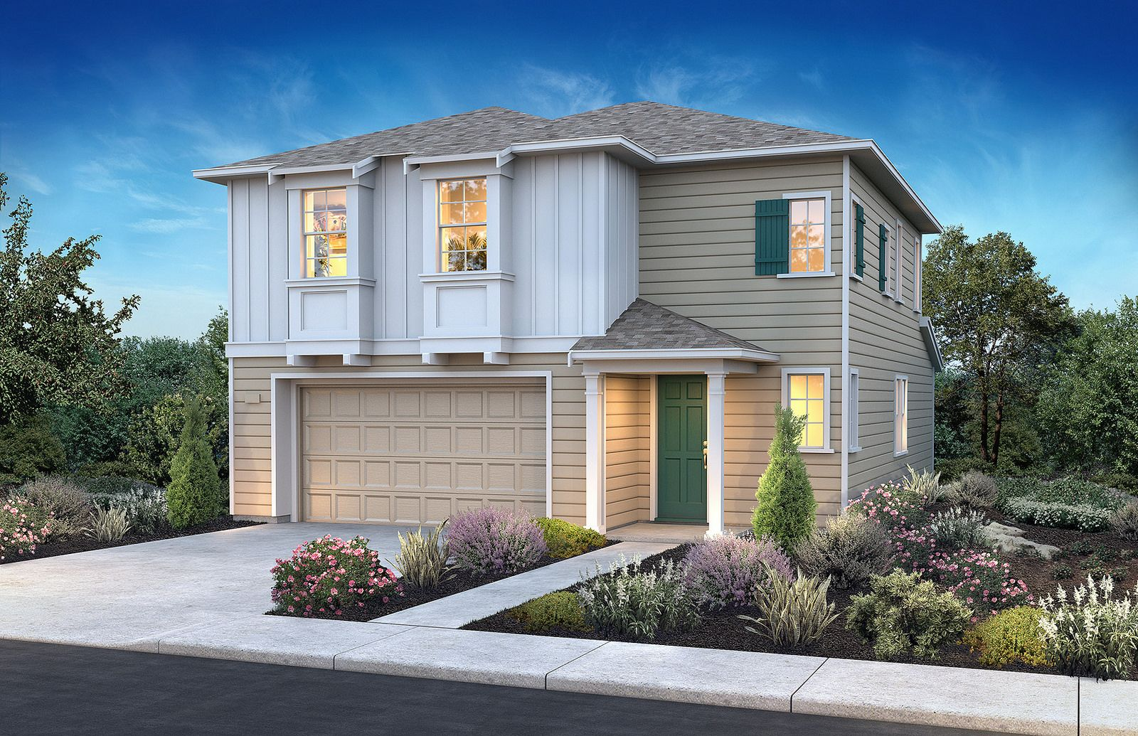 Beach House Plan 1 Elevation D Gorgeous New Homes Located Less Than One Mile From Monterey Bay By Sheahomesnocal