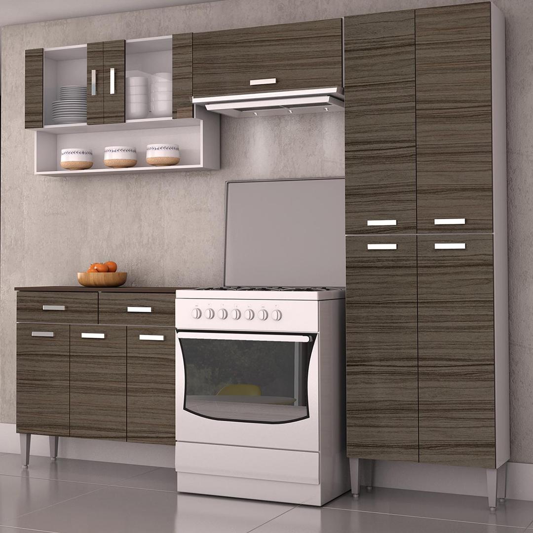 Kit mueble cocina 220x201x36 cm Parana | Ideas de Decoración ...