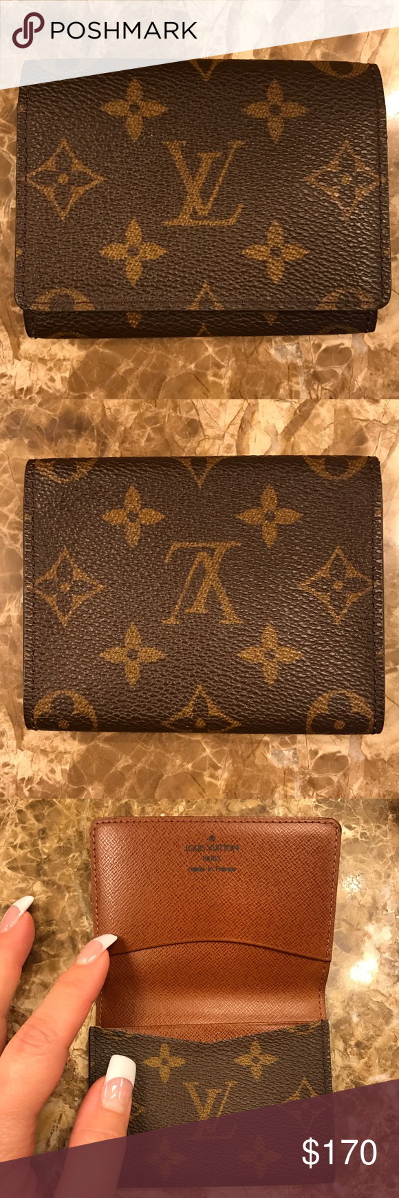 Auth louis vuitton business card holder this is an authentic auth louis vuitton business card holder this is an authentic vintage lv business card holder in colourmoves