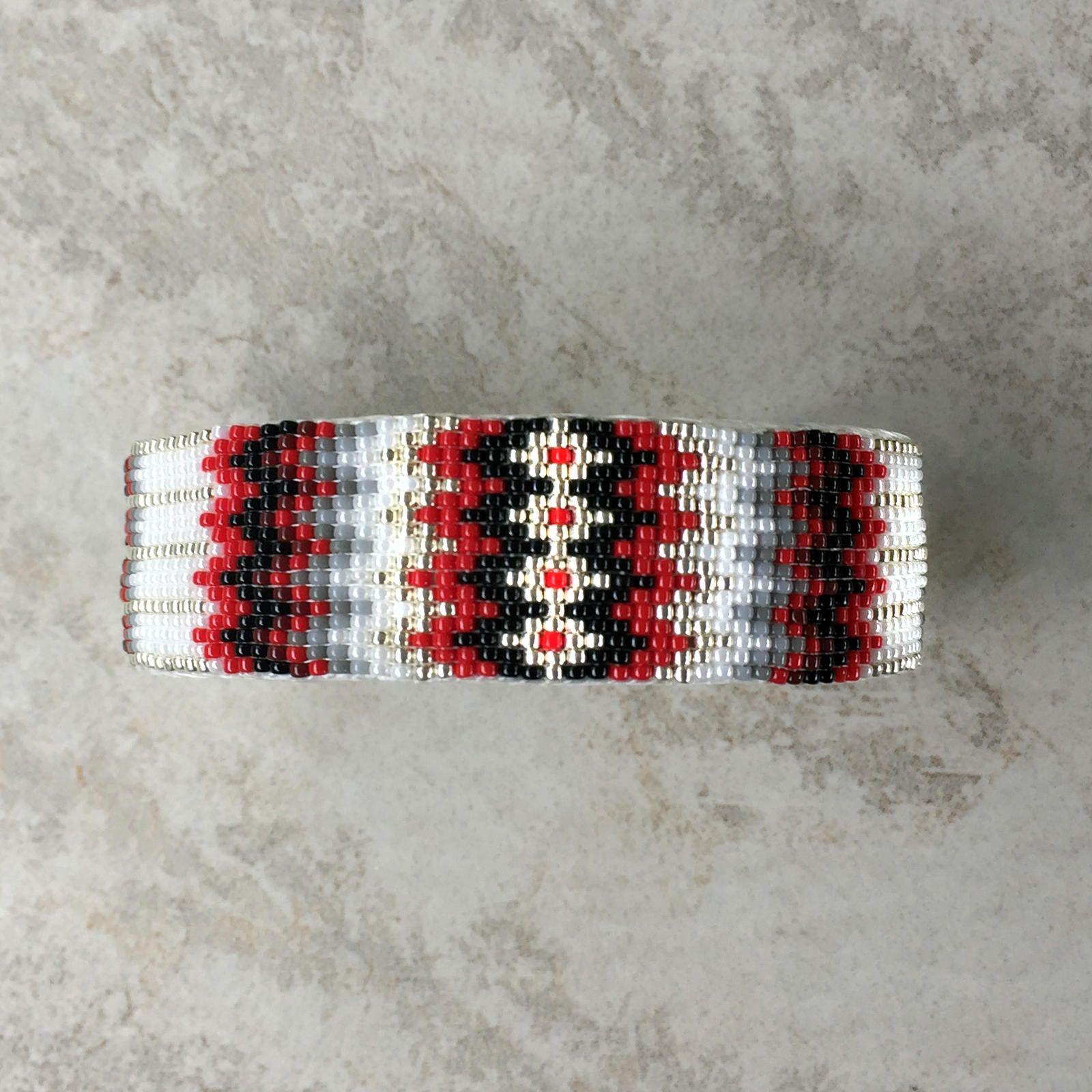 navajo bead designs. Beaded Bracelet,Navajo Jewelry,Native American Bracelet,navajo Beads, Navajo,native Jewelry,Beaded Navajo Cuff Bracelet,RED \u0026 BLACK Bead Designs B