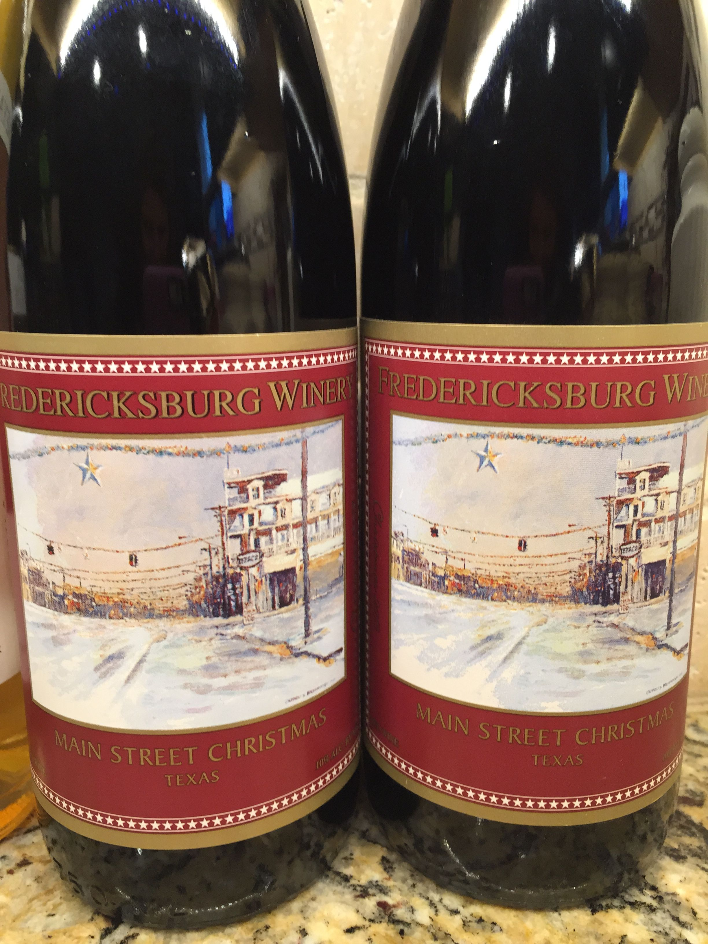 Fredericksburg Winery Main Street Christmas Wine This Is A Special Wine Made For The Holiday Season It Is Fredericksburg Wineries Wine Design Christmas Wine