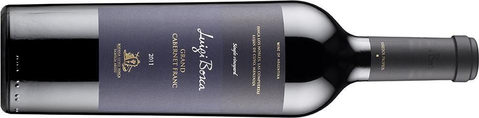 Viini-lehti valitsi jälleen vuoden parhaan puna- ja valkoviinin. Luigi Bosca Cabernet Franc 2011