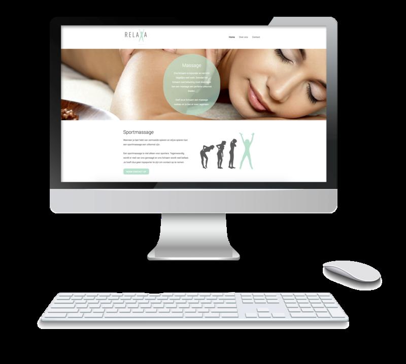 De nieuwe website van relaxa staat online.