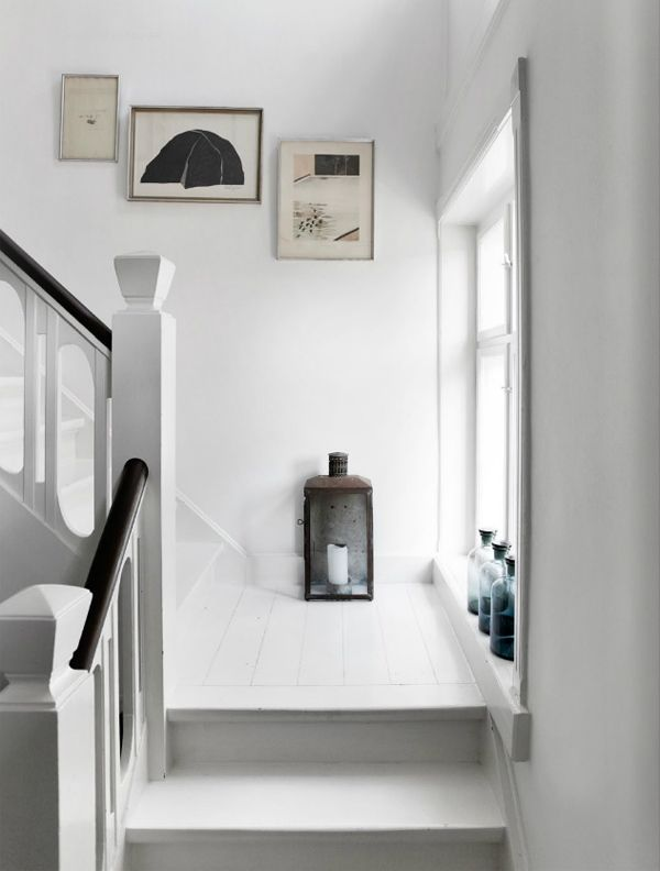 Best Scandinavian Style Tine Kjeldsen S Home White Stairs 400 x 300
