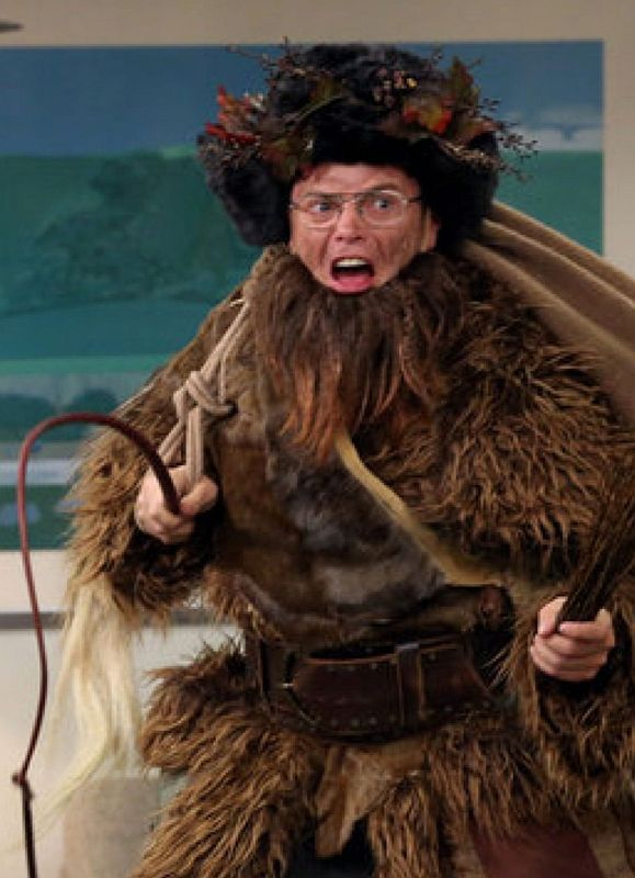 The Dark Side Of Christmas Santa S Companions The Office Nbc Best Of The Office Belsnickel The Office