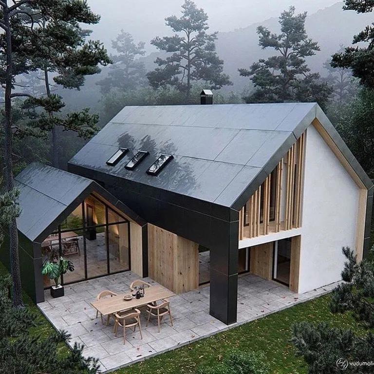 35 Metal Building House Design Ultimate Guide Architecture House House Exterior Architecture