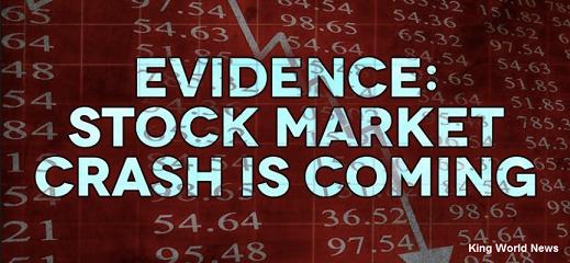 """A Stock Market Crash: A Matter Of """"When,"""" Not """"If"""""""