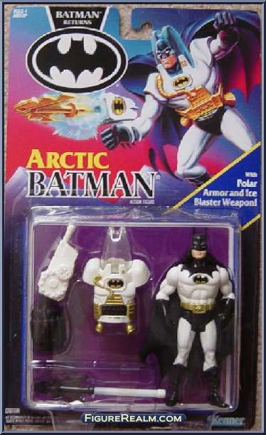 Kenner Batman Returns Series 1 Batman (Arctic) Figure 1992// Uno de los tantos batman que tuve