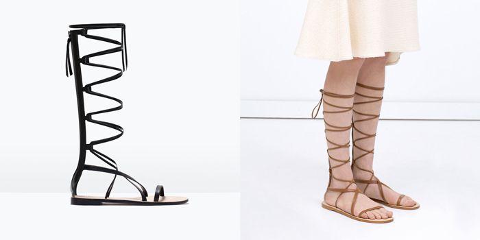 Zara Nueva Zapatos Colección Primavera 2015sandalias De Verano H9DWEY2I