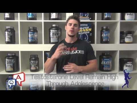What Age Should You Start Taking Natural Testosterone Boosters? MassiveJoes.com MJ Q&A Review - http://www.sportsnutritionshack.com/testosterone/what-age-should-you-start-taking-natural-testosterone-boosters-massivejoes-com-mj-qa-review/