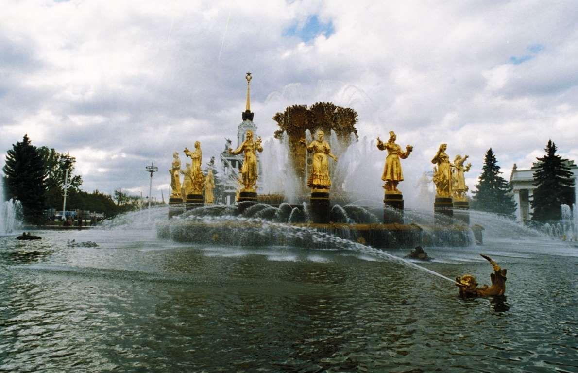 фонтаны россии самые