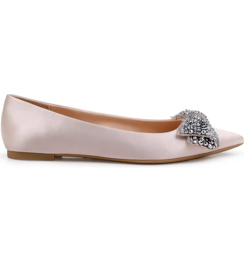 022c30893ba7 Jewel Badgley Mischka Zanna Flat (Women)