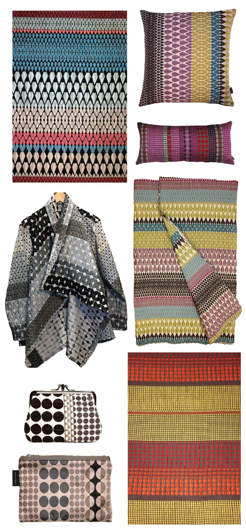 woven fabrics from London-based designer, Margo Selby. | textiles + ...