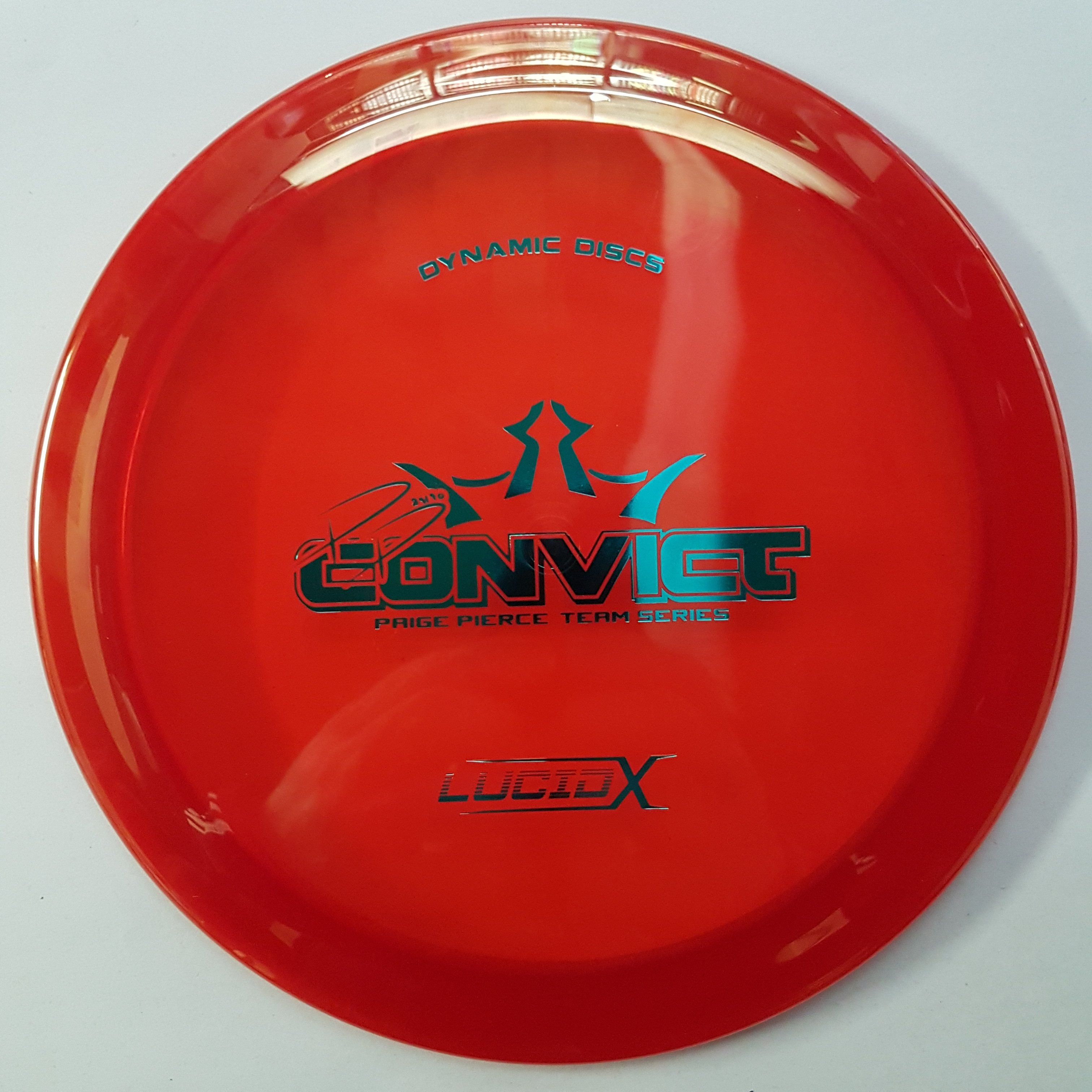 Dynamic Convict Lucid X Paige Pierce Team Series 2018 In 2020 Pierce Disc Golf Lucid