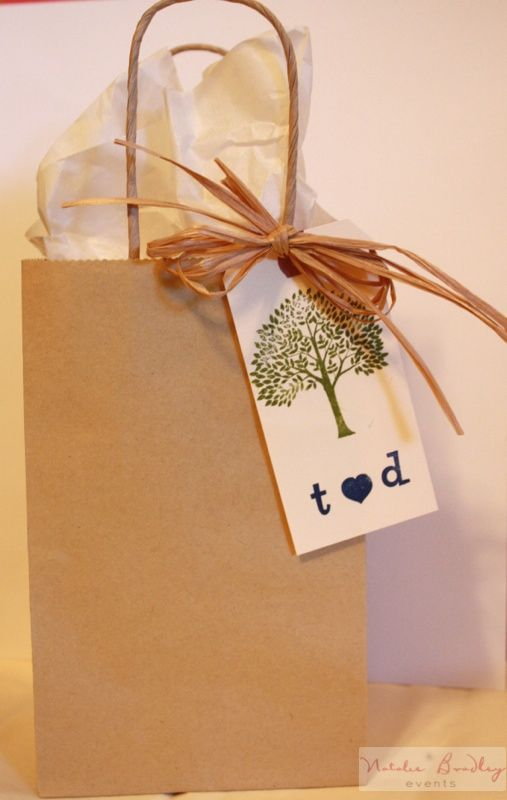 Simple Hotel Guest Bag Presentes Embalagens Ideias