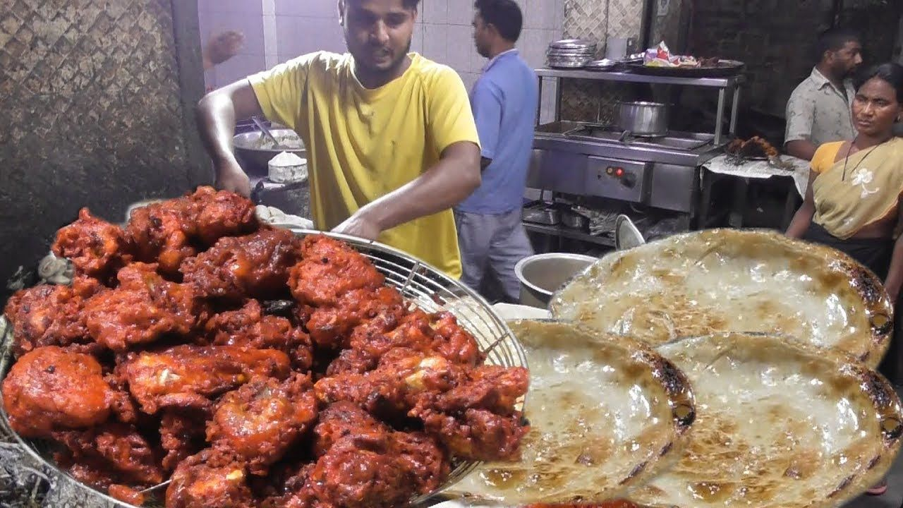 Full Chicken Fry @ 280 rs – Opposite Iqra Masjid Ranchi – Indian Street Food