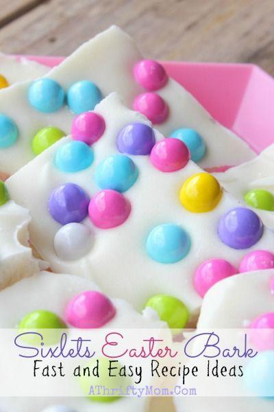 Almond Bark Easter Recipe Sixlets Candy Last Minute Treat Ideas