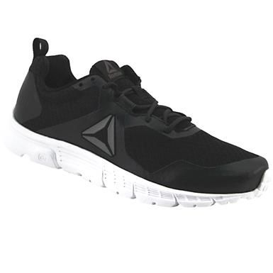 9963347e7b50 Reebok Run Supreme 4 Running Shoes - Mens Black White
