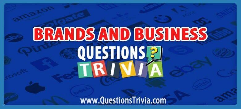 Stayhome Triviaquiz Brands Business Trivia Questions Questionstrivia In 2020 Trivia Questions Trivia Trivia Categories