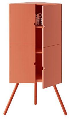 ikea ps 2014 eckschrank in rosa mit tassen darin ikea tricks m bel ikea eckschrank. Black Bedroom Furniture Sets. Home Design Ideas