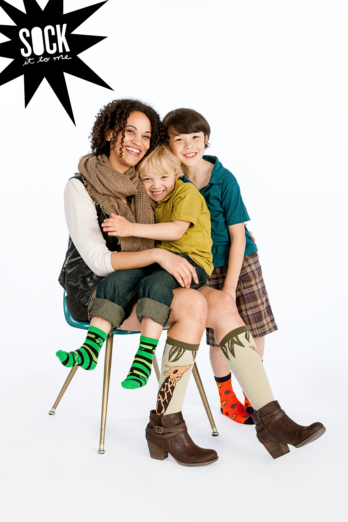 Funkiness knows no age! | New Fall 2014 Designs: Sock It To Me
