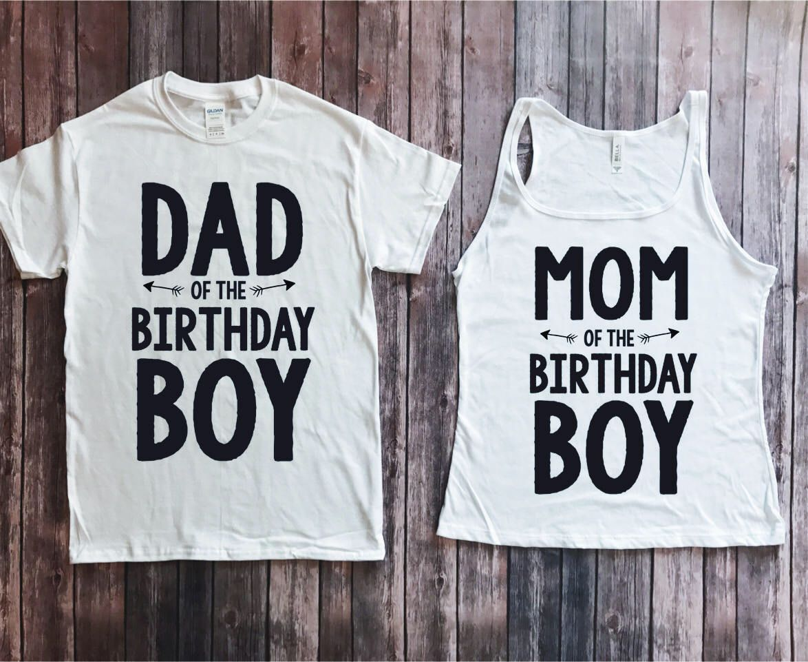 Birthday Boy Shirt For Mom