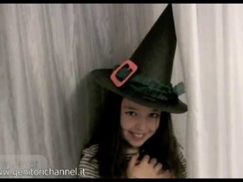 Cappello da strega x Halloween (video)