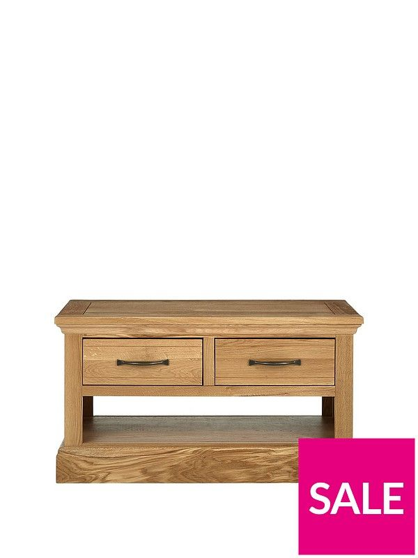 Luxe Collection Kingston 100 Solid Wood Ready Embled Coffee Table And