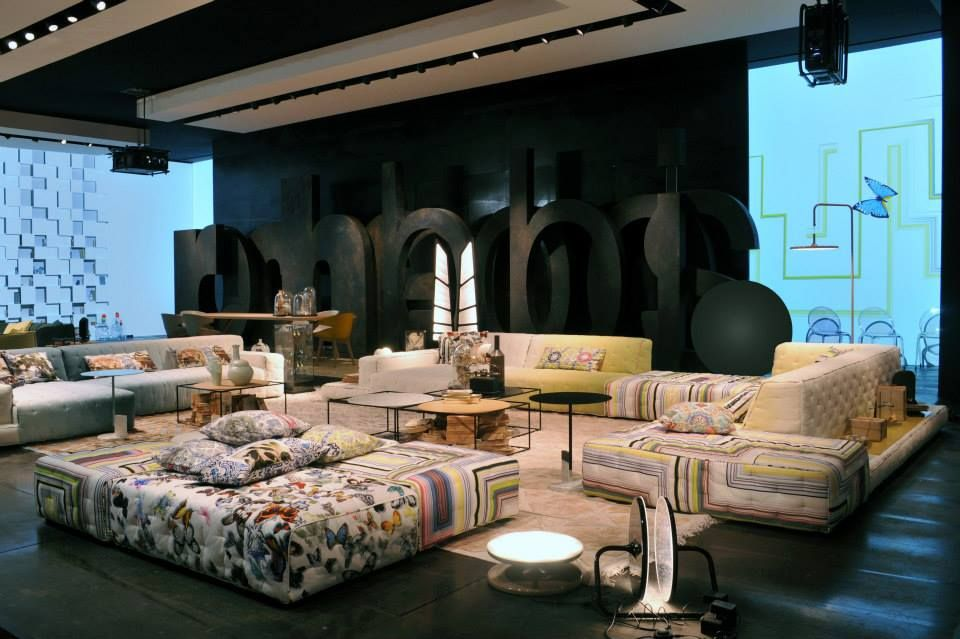 roche bobois paris salone del mobile 2014 milano exhibition pinterest. Black Bedroom Furniture Sets. Home Design Ideas