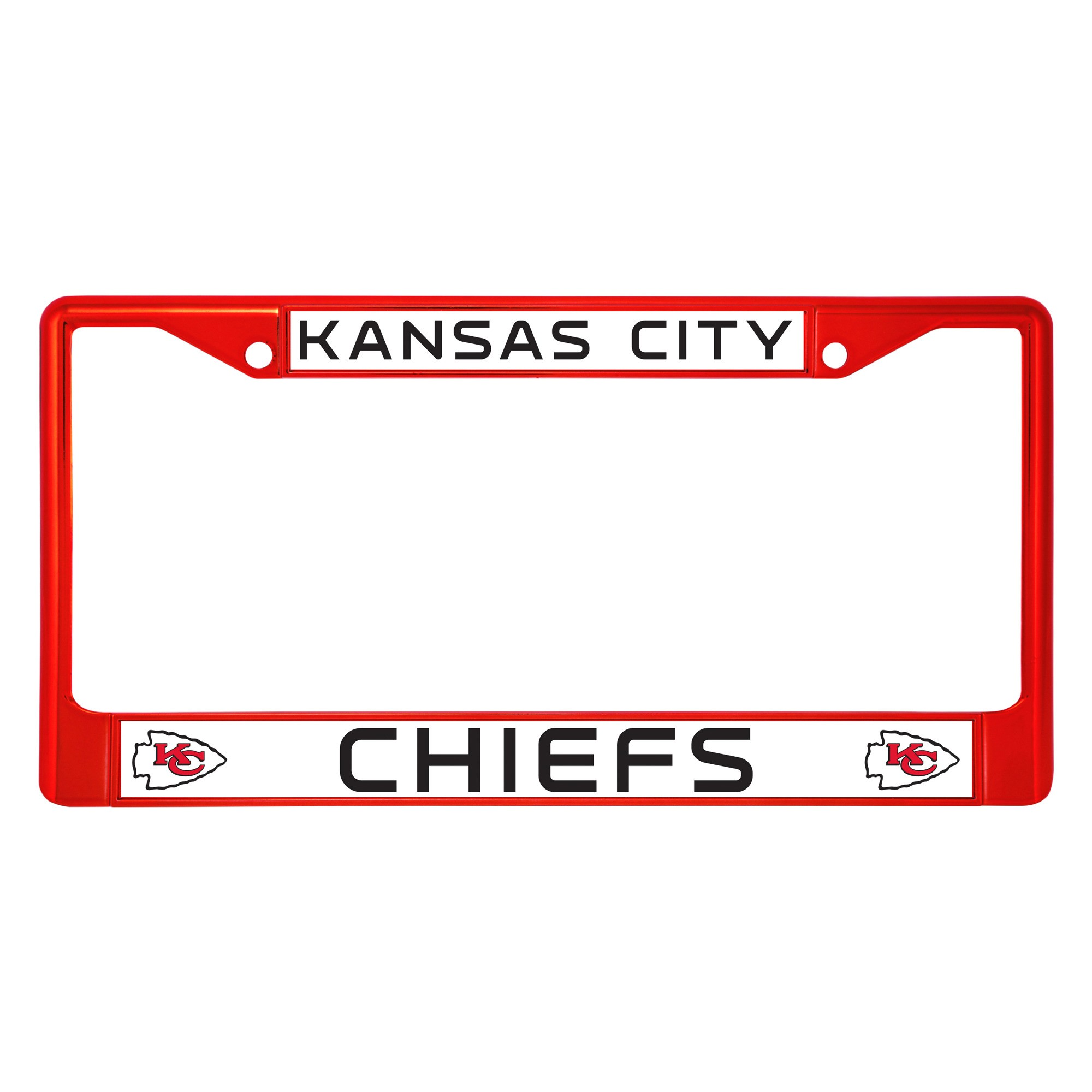 NFL Kansas City Chiefs License Plate Frame | License plate frames ...