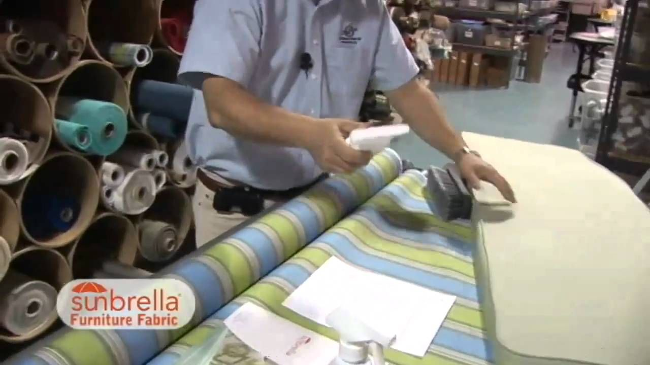 Care & Cleaning of Sunbrella Furniture Fabric YouTube