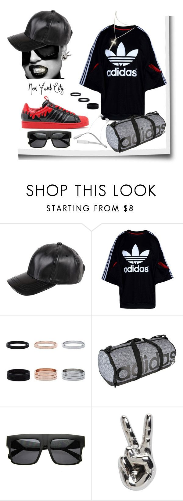 """""""Wheels all the way UP✈️"""" by missactive-xtraordinary ❤ liked on Polyvore featuring adidas Originals, Armitage Avenue, adidas, Marc Jacobs and Skullcandy"""