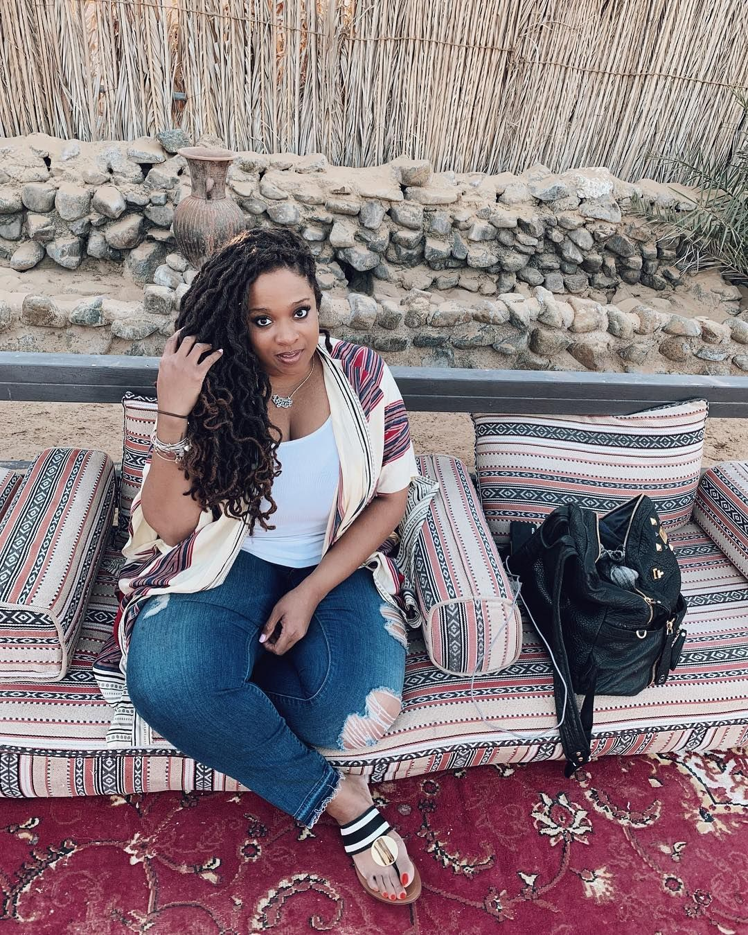 Kierra Sheard On Instagram Ashy Feet From Walking Through The Sand Lots Of Lessons Learned Here Dubai Kierra Sheard Lessons Learned Women