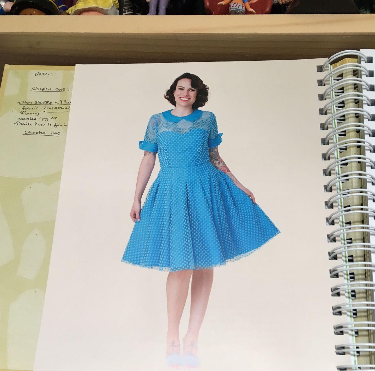 Cherry Corduroy Dress - Gertie\'s Ultimate Dress Book   Pattern ...