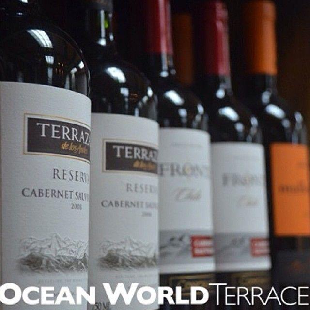 Cartas De Vinos Ocean World Liquor Store