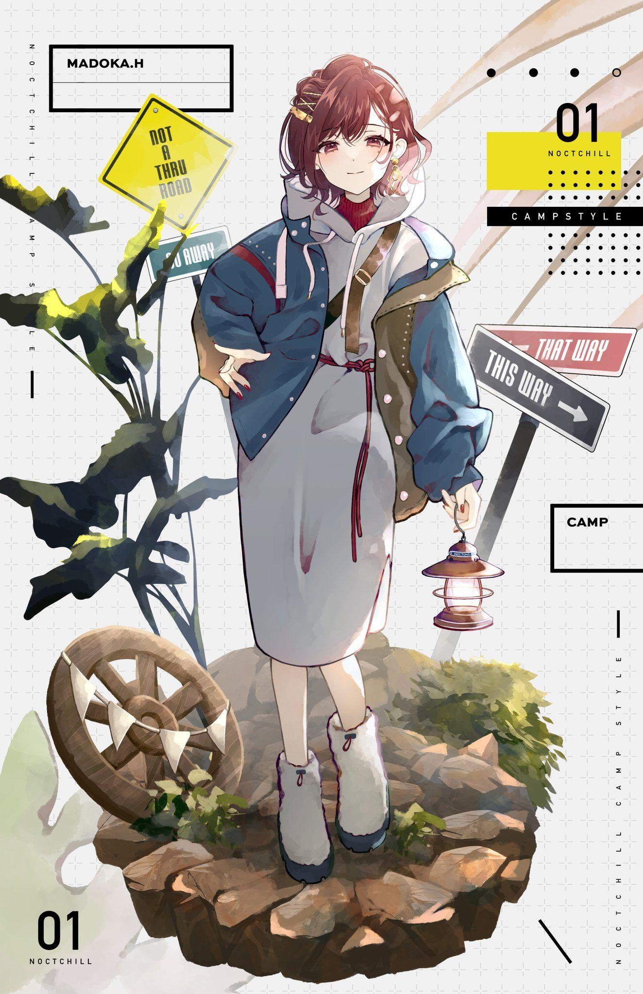 うめうめ on twitter character design anime illustration