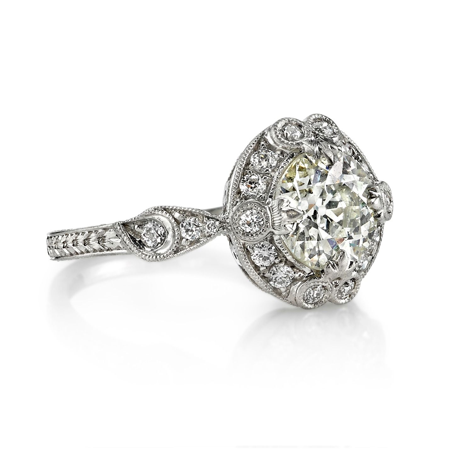 Vintage Engagement Rings on HowHeAsked's Ring Finder