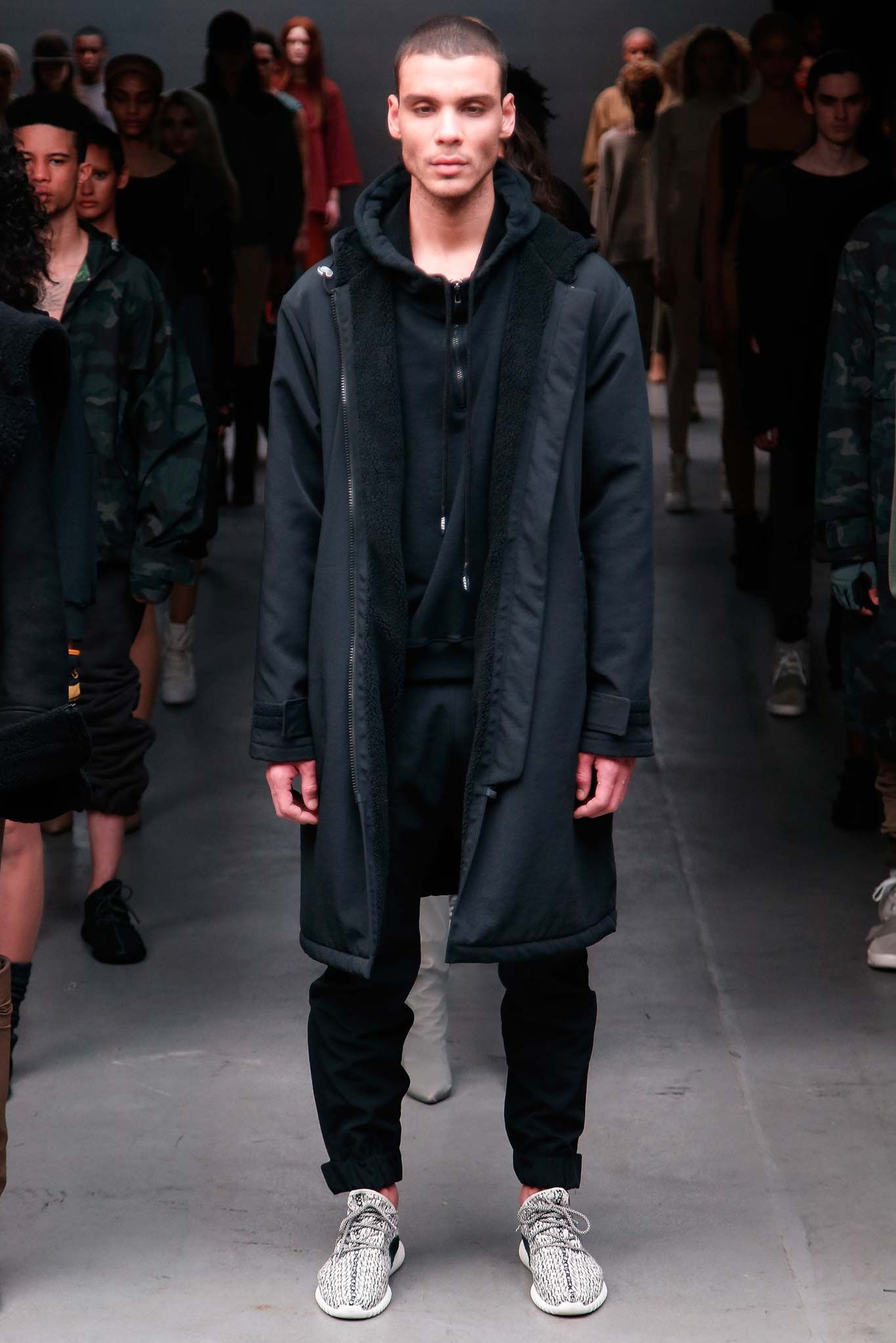 2136e9e03654 Kanye West x Adidas Originals Fall 2015 Ready-to-Wear - Collection -  Gallery - Style.com