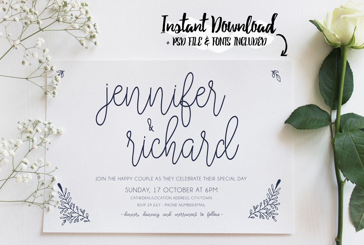 How I made my own wedding invitations and SAVED   Vintage wedding ...