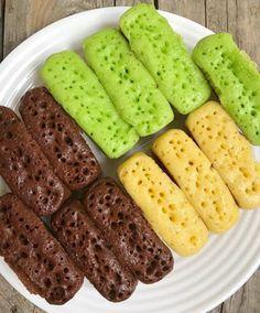 Resepkuekomplit Com Resep Kue Pukis Original Rasa Cokelat Dan Pandan Makanan Kue Resep