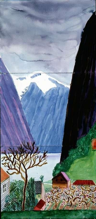 ALONGTIMEALONE: dionyssos: David Hockney