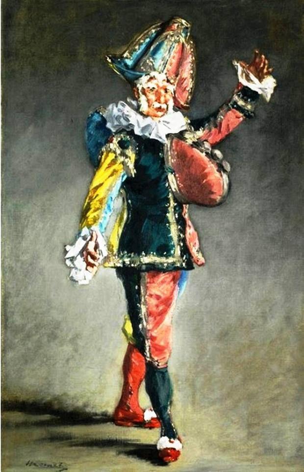 Édouard Manet - Polichinelle, 1873. #arte