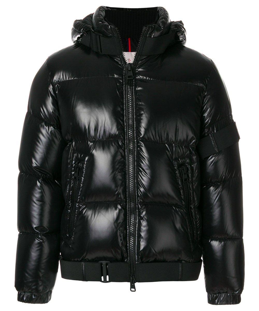 Moncler Men's Black Polyamide Down Jacket ModeSens