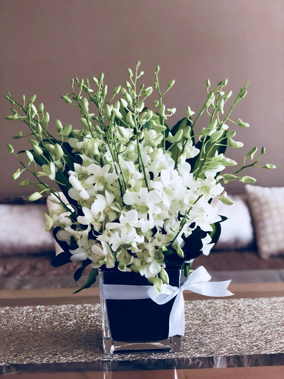 Fresh Classic Orchids Orchids Orchid Vase Same Day Flower Delivery