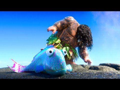 Moana deleted scene gone fishing 2016 disney animated for Gone fishing movie