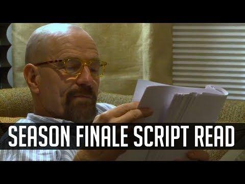 Watch Bryan Cranston and Aaron Paul read the Breaking Bad finale script... [▶ 'Breaking Bad' Stars Read Season 5 Finale Script (Felina) - YouTube]