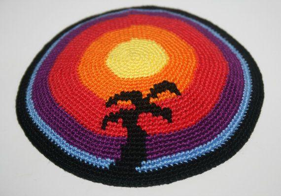 kippah palm tree for custom request by crochetkippah on Etsy ...