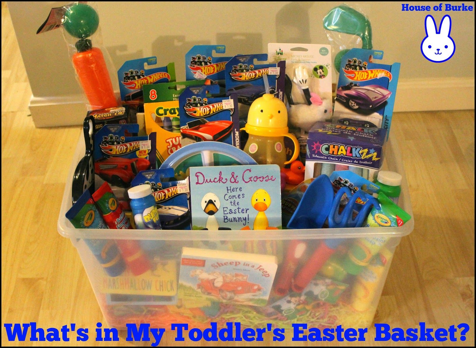 Whats in my toddlers easter basket easter baskets easter and whats in my toddlers easter basket negle Image collections