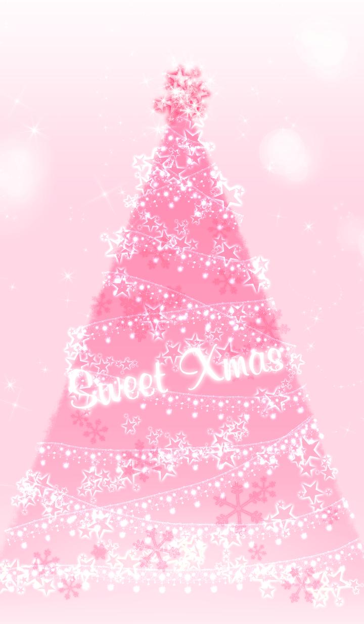 Pink Christmas Tree Wallpaper Wallpaper Iphone Christmas Christmas Tree Wallpaper Cute Christmas Wallpaper